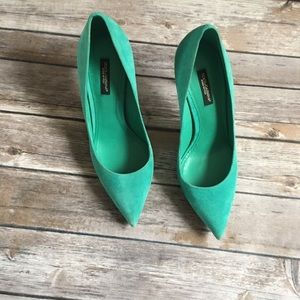 New Authentic Dolce &Gabbana Heels Shoes sz7.5